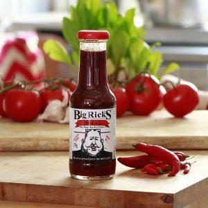 Big Rick's Hot As Bar-B-Q Sauce