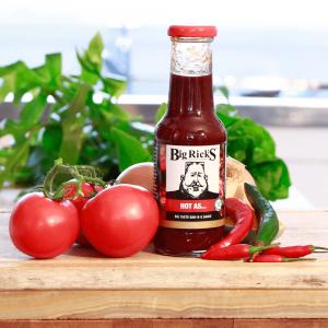 Big Rick's Hot As Bar-B-Q Sauce, Hot BBQ Sauce